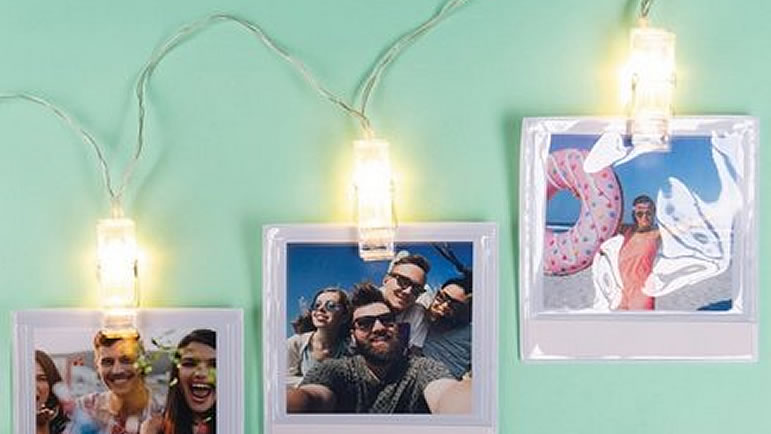 Moments Photo Wallets String Lights from Studio