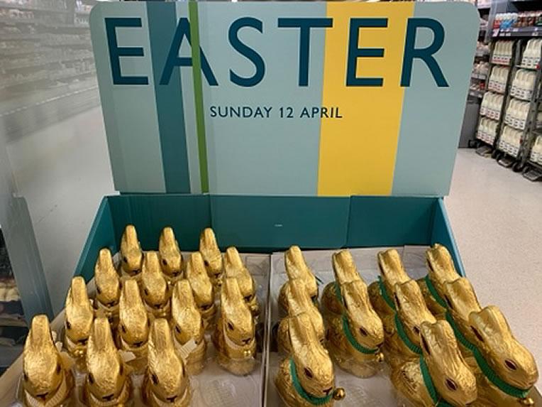 Easter Eggs spotted in Waitrose