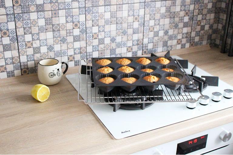 Baking in the kitchen