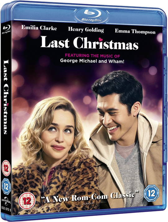 Universal Pictures Last Christmas Blu-Ray