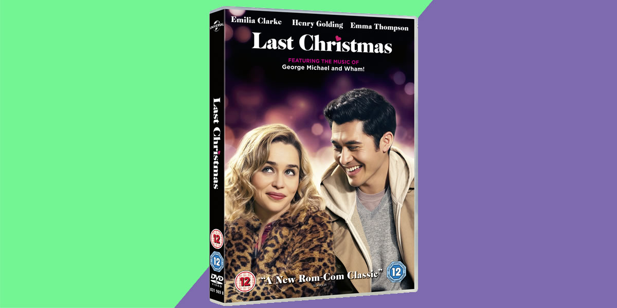 Universal Pictures - Last Christmas 2019 DVD & and Blu-Ray