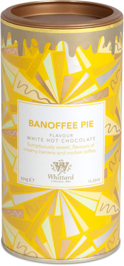 Whittard Chelsea Limited Edition Banoffee Pie Flavour White Hot Chocolate