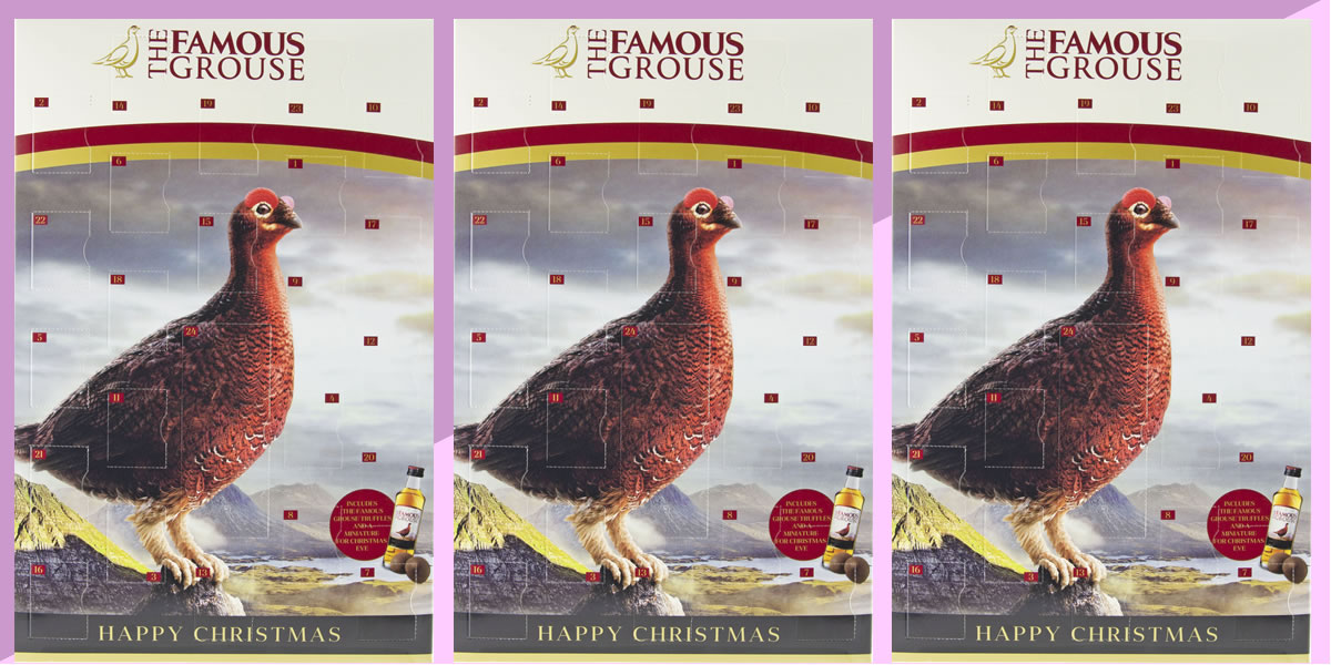 Image of The Famous Grouse advent calendar