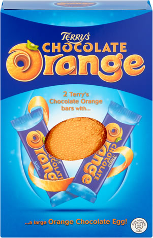 Terry's Chocolate Orange Large Hollow Easter Egg