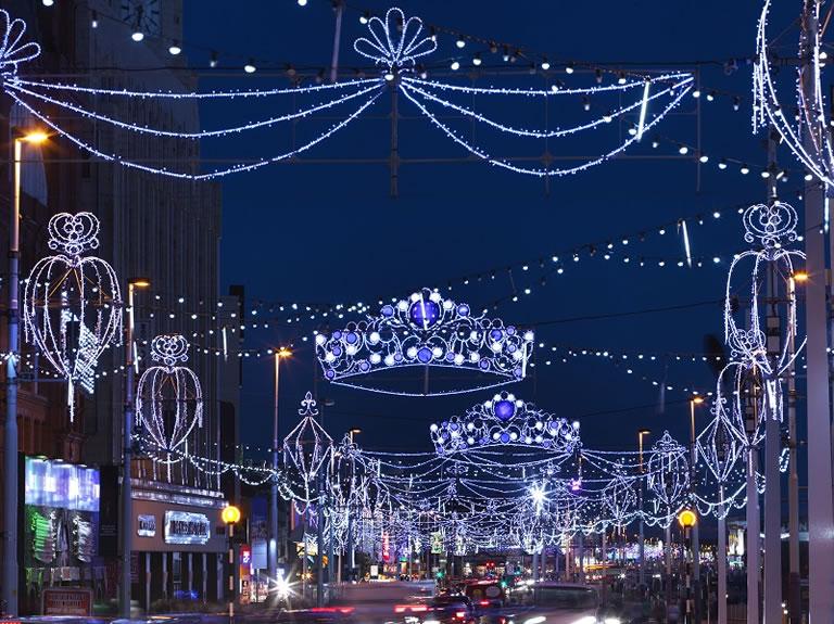 Blackpool Illuminations Road Section