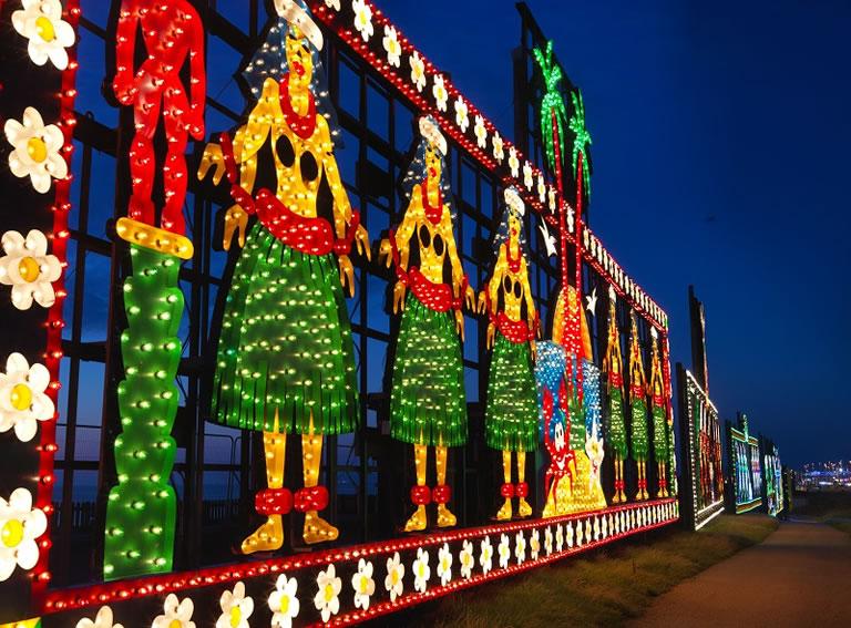 Blackpool Illuminations Tableau
