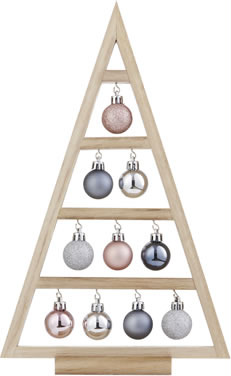 Christmas Kisses Bauble Tree