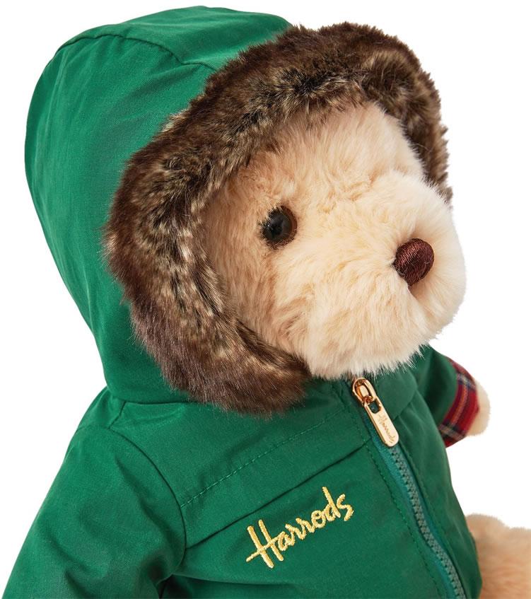 Image of Harrods Christmas bear 2020 Nicholas
