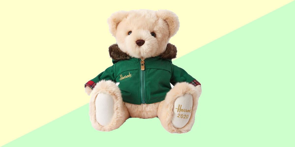 Image of Nicholas Harrods bear 2020
