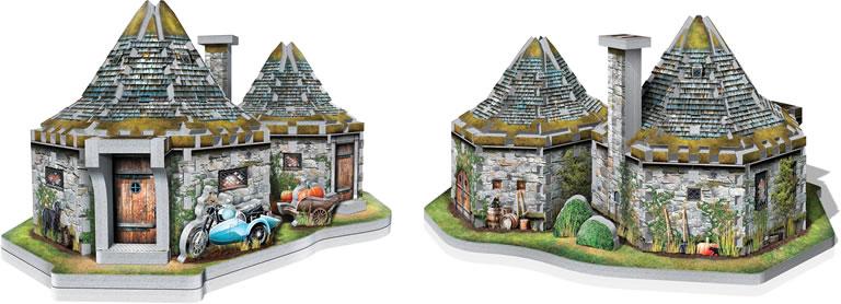 Image of Wrebbit Hagrid Hut 3d puzzle