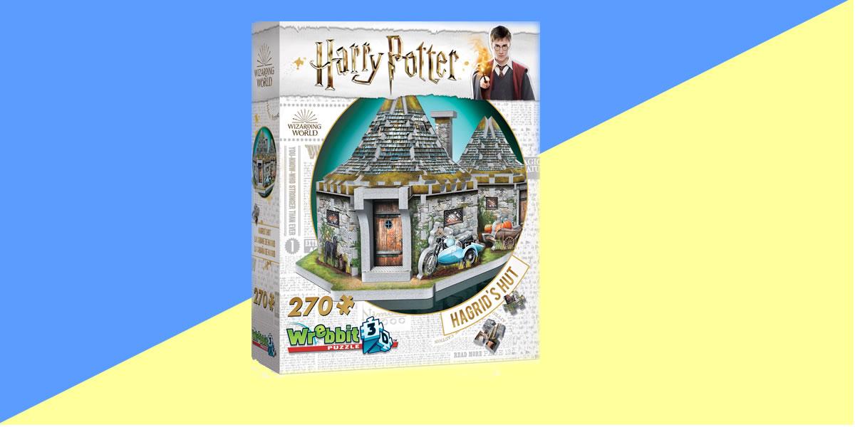 Image of Wrebbit Hagrids Hut 3d puzzle
