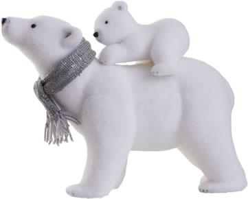 Polar Bear Syrofoam Bears
