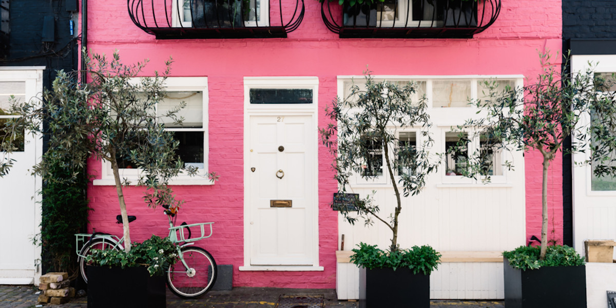 Love Actually Mews House from Shutterstock by JJFRAQ