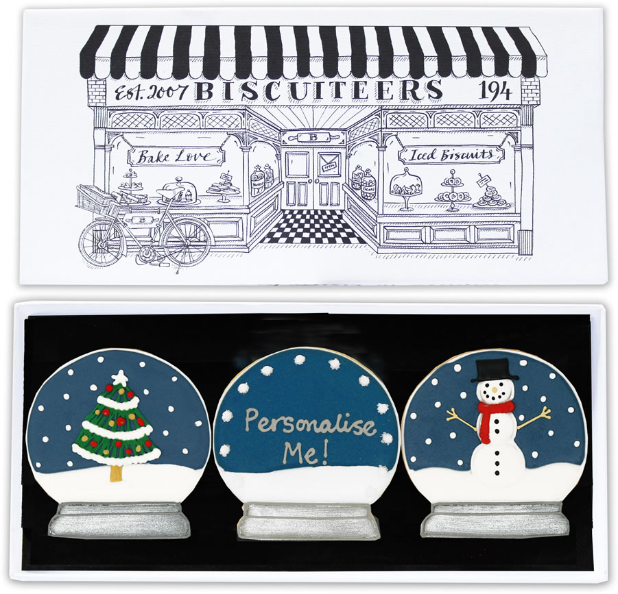 Image Of Biscuiteers Letterbox Biscuits