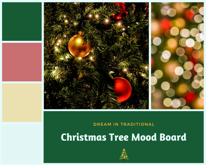 Christmas Tree Mood Board