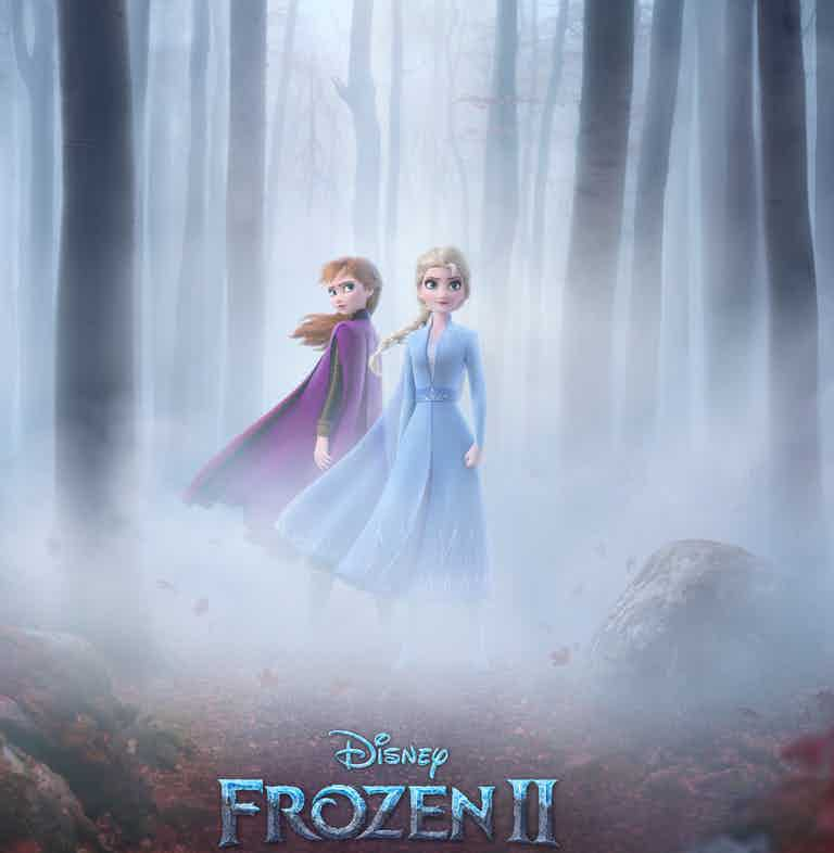 Disney Frozen 2 Anna and Elsa