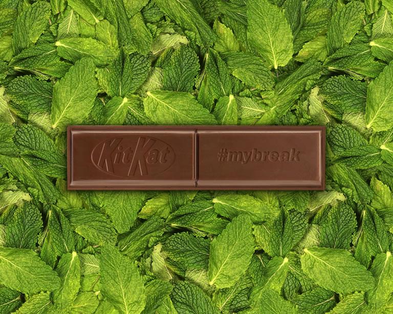 KitKat Chunky Mint Flavour