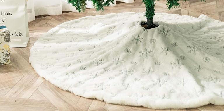 ShiyiUP velevt tree skirt