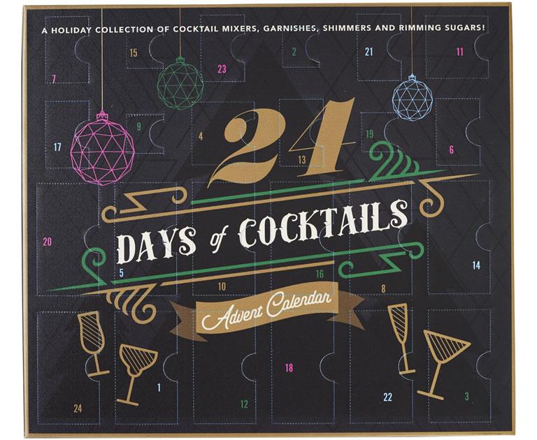 Wilko 24 days of cocktails advent calendar