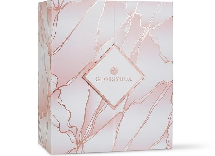 GLOSSYBOX 'Reason To Be Happy' advent calendar - closed box