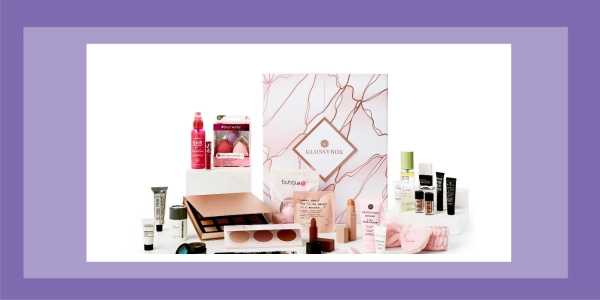 GLOSSYBOX 'Reason To Be Happy' advent calendar Christmas 2020