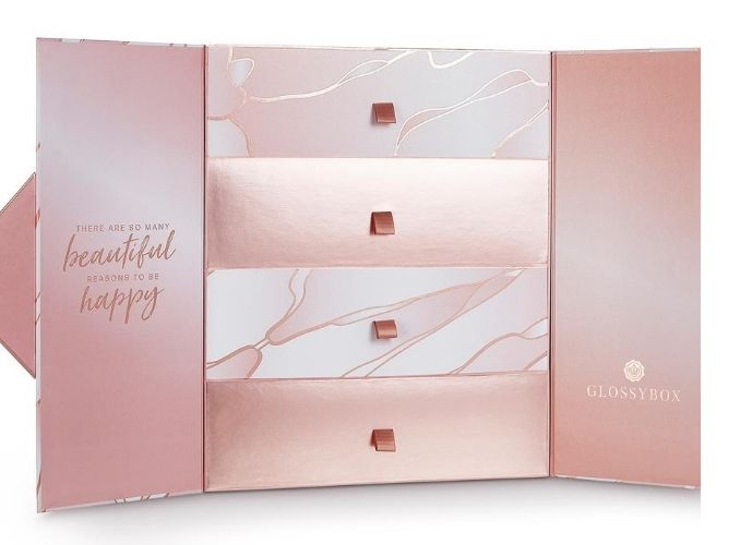 GLOSSYBOX 'Reason To Be Happy' advent calendar