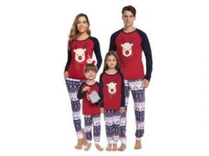 Hawiton Family Matching Christmas Pyjama set