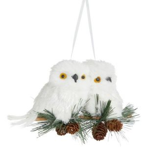 John Lewis & Partners Impressionism Branch with 2 Owls