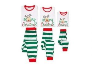 Unisex Merry Christmas Matching Family Pyjamas Set