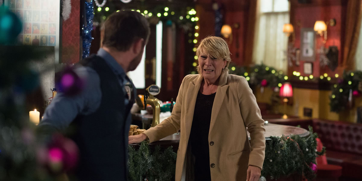 BBC Mick And Shirley Eastenders Iconic Episode