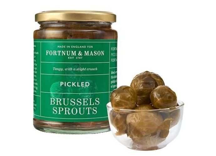 Fortnum & Mason Christmas 2020: Pickled Brussel's Sprouts