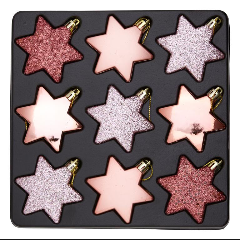 Homebase Blush Stars 9 Pack