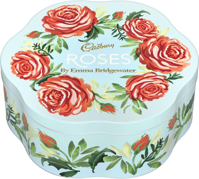 Image Of Cadbury Roses Emma Bridgewater Tin