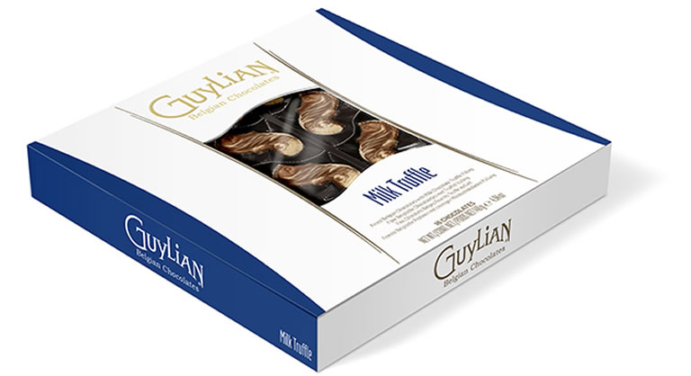 Image Of Guylian Chocolates Sea Shells Milk Truffle