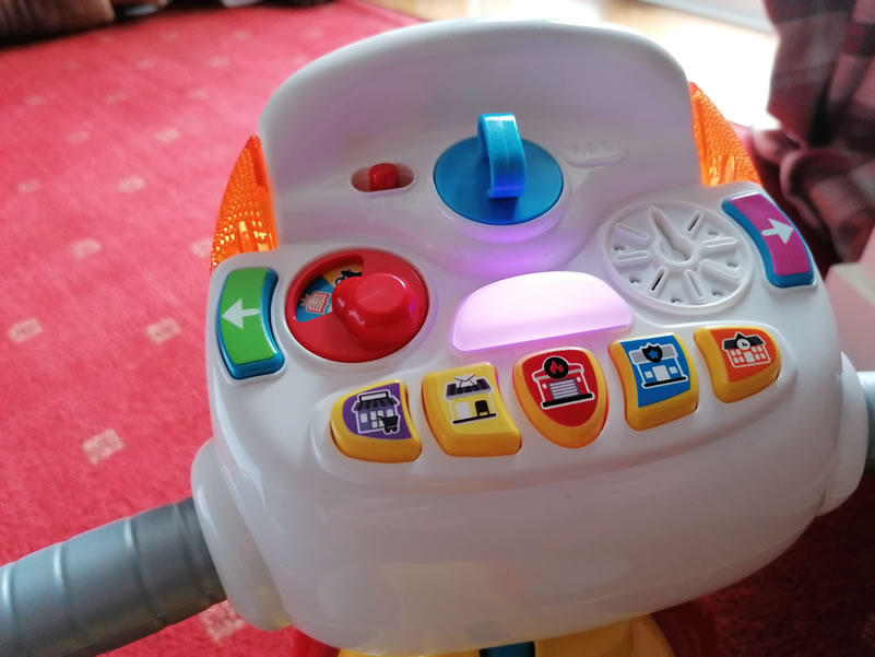 Image Of VTech 3-In-1 Ride With Me Motorcycle On