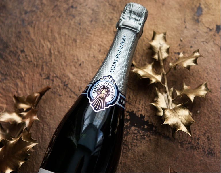 Louis Pommery Bottle