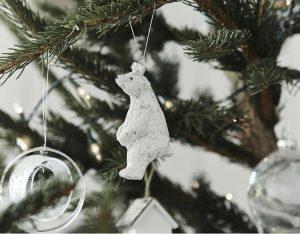 Matalan Polar Bear Tree Decoration