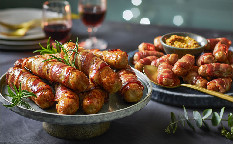 Tesco Giant Pigs In Blankets