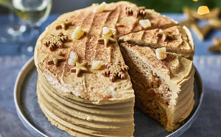 Tesco Ginger Chai Cake
