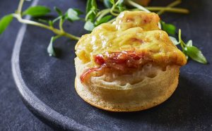 Tesco Ham Hock And Cheese Crumpets