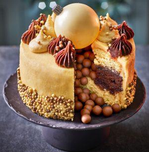 Tesco Orange And Maple Bauble Cake