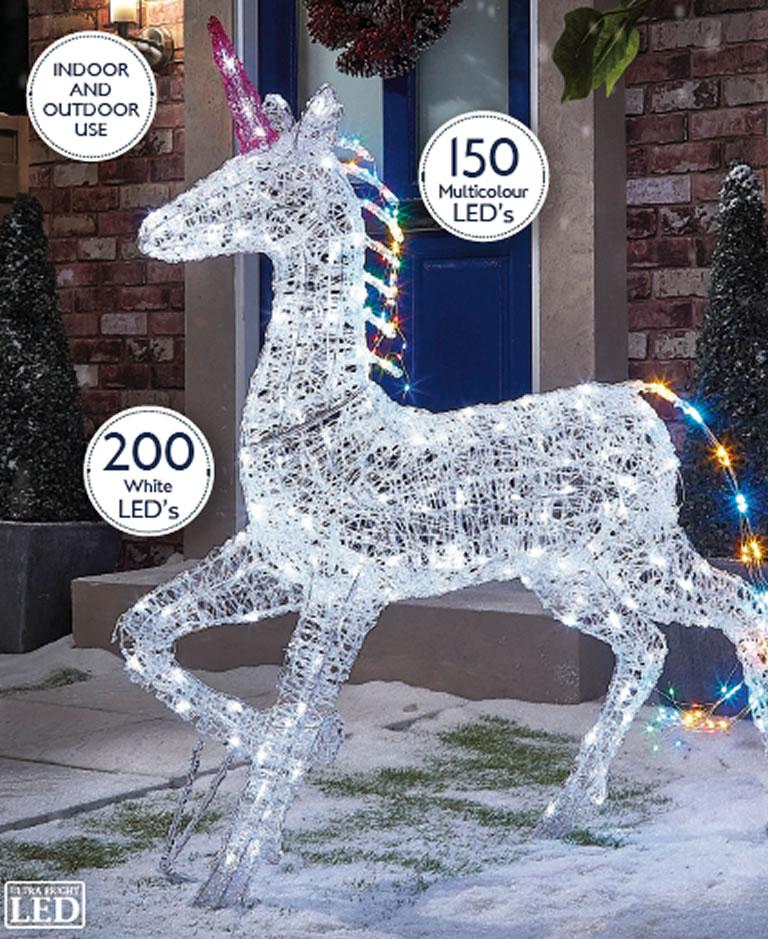 Image Of The Range Acrlyic Unicorn