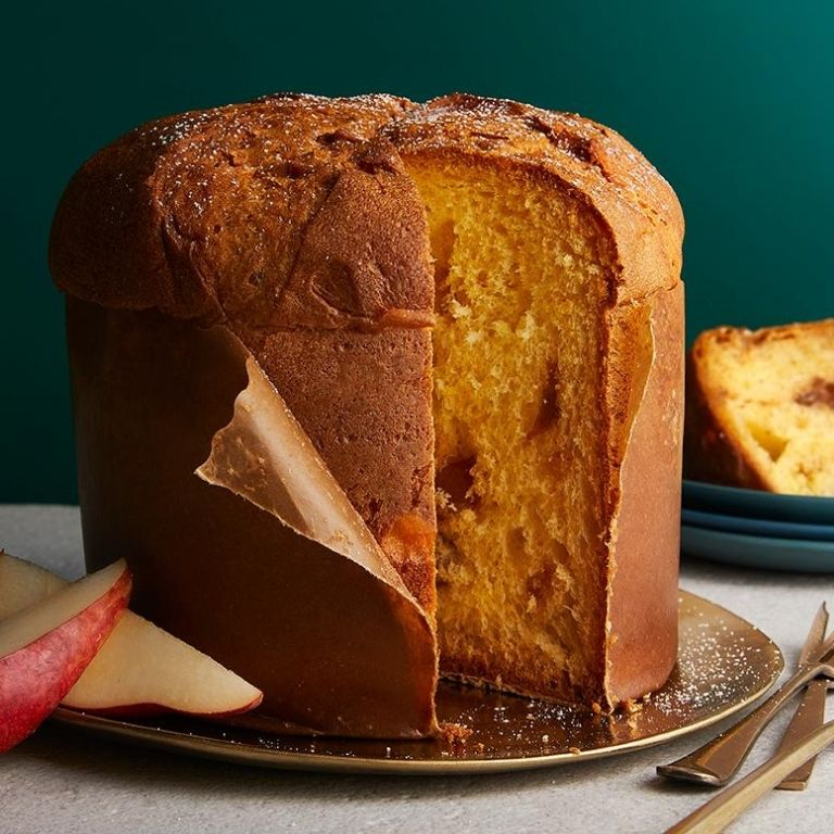 Waitrose Christmas Food 2020 - Chestnut and Pear with Rum Panettone