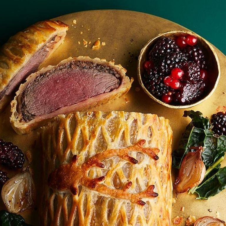 Waitrose & Partners Christmas 2020 - No.1 British Venison Wellington