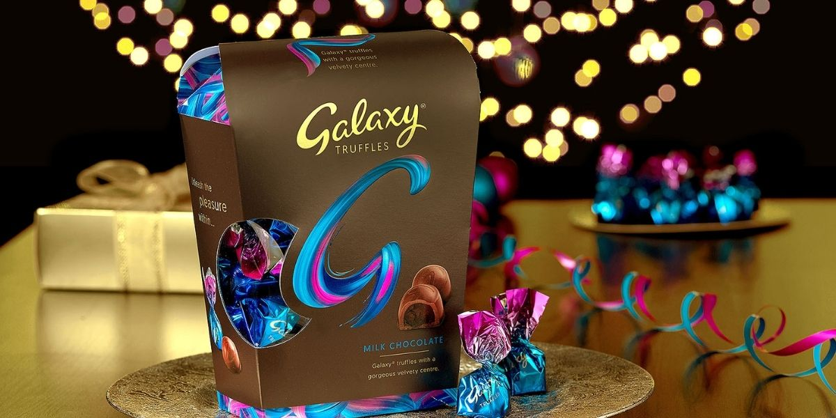 Galaxy Truffles Large Christmas
