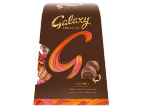 Galaxy Truffles Orange christmas 2020
