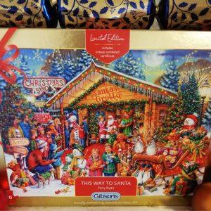 Gibsons 'This Way to Santa' Jigsaw