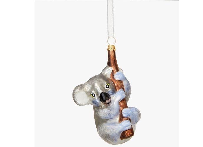 John Lewis & Partners Post Impresionism Koala Bauble, Grey