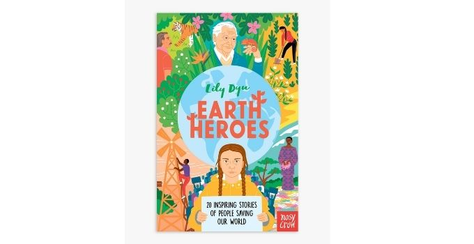 John Lewis and Partners top toys Christmas - Earth Heroes Children's book hardback edition £16.99