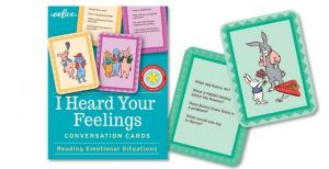 John Lewis and Partners top toys Christmas - I Heard Your Feelings conversation cards £11.99